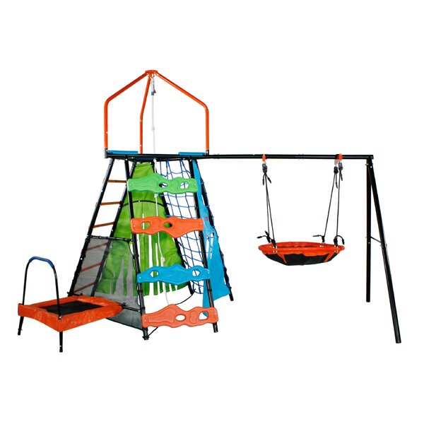 Bell Peak Play Swing Set (Wayfair Exclusive) by Sportspower