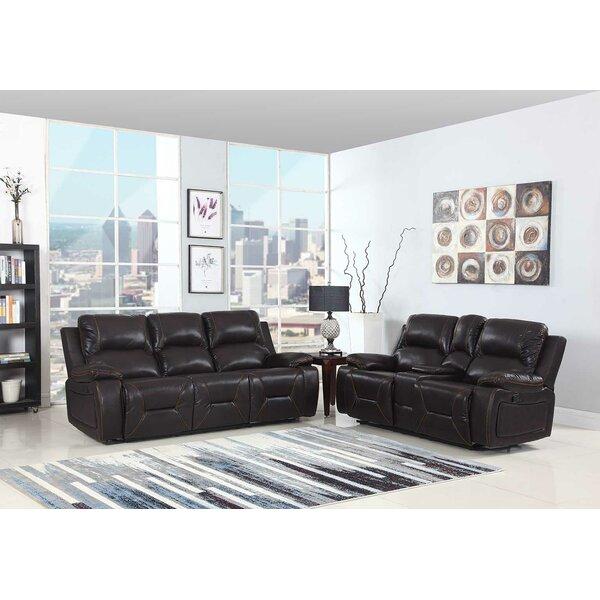 Trower Reclining 2 Piece Living Room Set