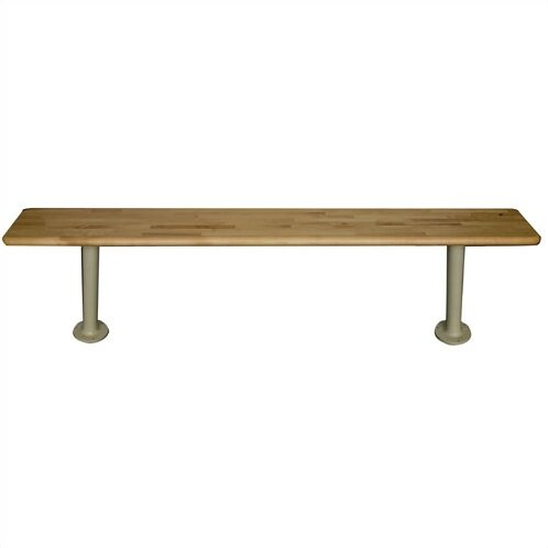 Maple Bench Top (Pedestals Sold Separately) by Hallowell