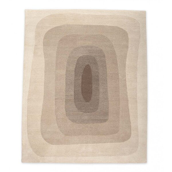 Easter Compton Handmade Beige Area Rug by George Oliver