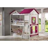 Schooley Twin Over Twin Loft Bed byZoomie Kids
