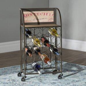 Goulette 20 Bottle Floor Wine Rack by Lark Manor