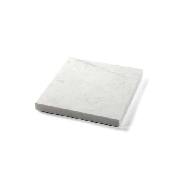 Alto Square Marble Platter by Latitude Run