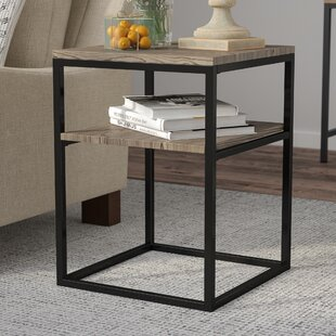 Reviews Forteau End Table by Laurel Foundry Modern Farmhouse