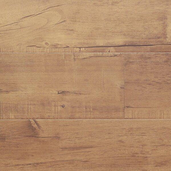 7 x 48 x 12.3mm Laminate Flooring in Chestnut (Set of 22) by Serradon