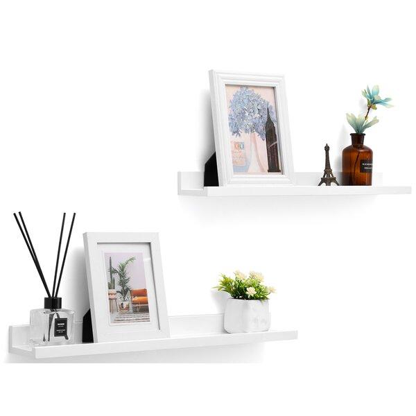 Stricklin Floating Shelf (Set of 2) by Ebern Designs