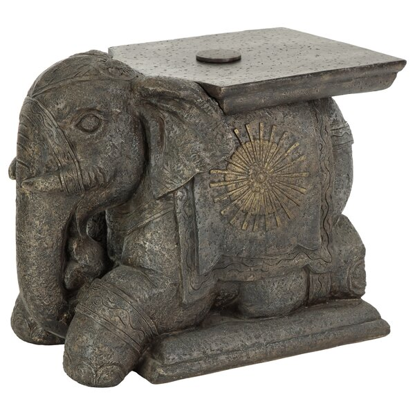 Elephant Umbrella Base Bistro Table by Bombay Outdoors