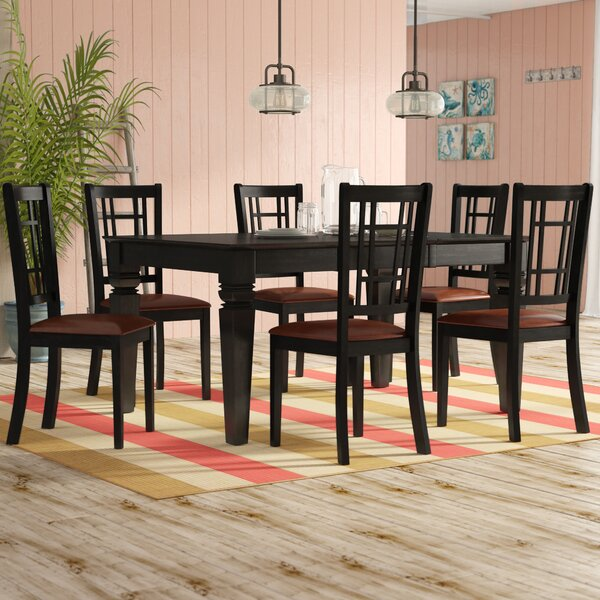 Pennington 7 Piece Extendable Dining Set by Beachcrest Home Beachcrest Home