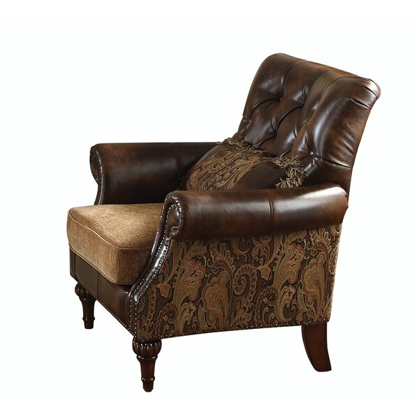 Peltz Chenille Club Chair by Astoria Grand
