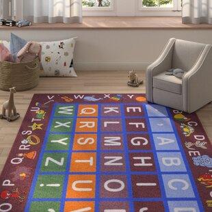 Look for Kingsdown Children's Educational Area Rug ByZoomie Kids