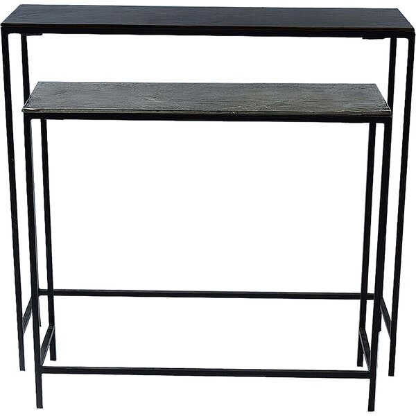 Tom 2 Piece Console Table Set by 17 Stories