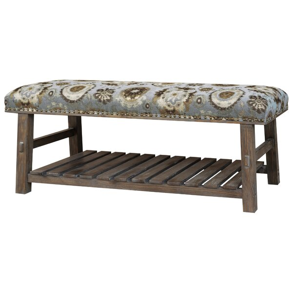 Upholstered Storage Bench by Crestview Collection