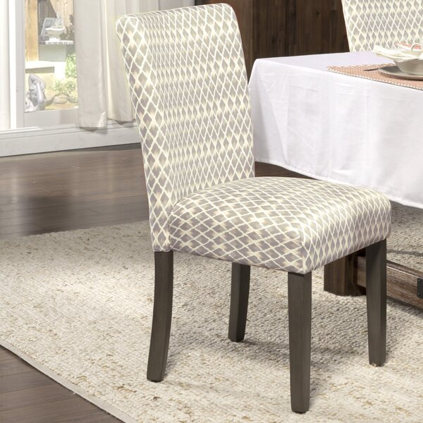 Feldman Velvet Upholstered Parsons Chair (Set Of 2) By Longshore Tides
