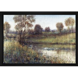 'Field and Stream' Framed Graphic Art on Canvas by PTM Images