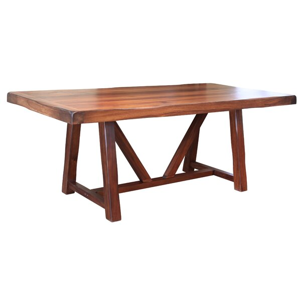 Solid Wood Dining Table by Artisan Home Furniture