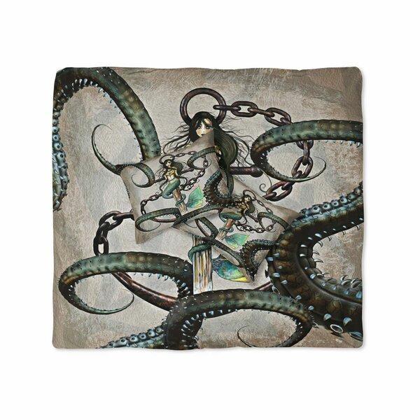 Triplett Steampunk Mermaid and Anchor Duvet Cover Set