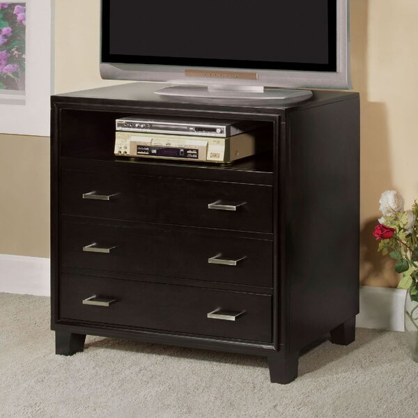Motes 3 Drawer Media Chest by Winston Porter