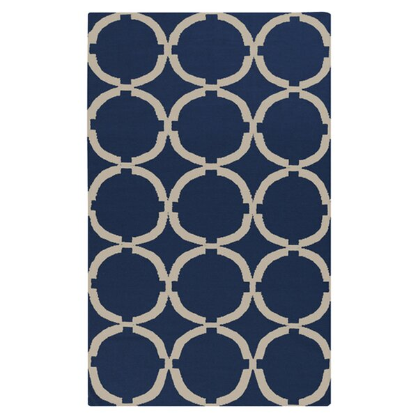 Atkins Midnight Blue Area Rug by Charlton Home