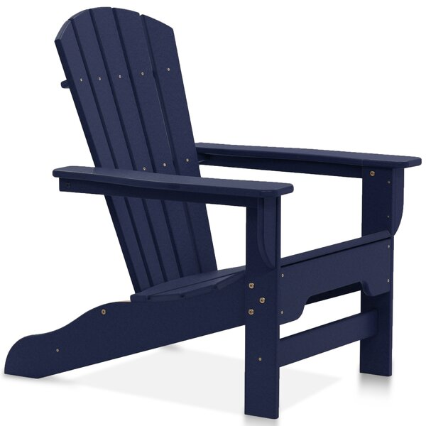 Strickland Plastic Adirondack Chair by Breakwater Bay