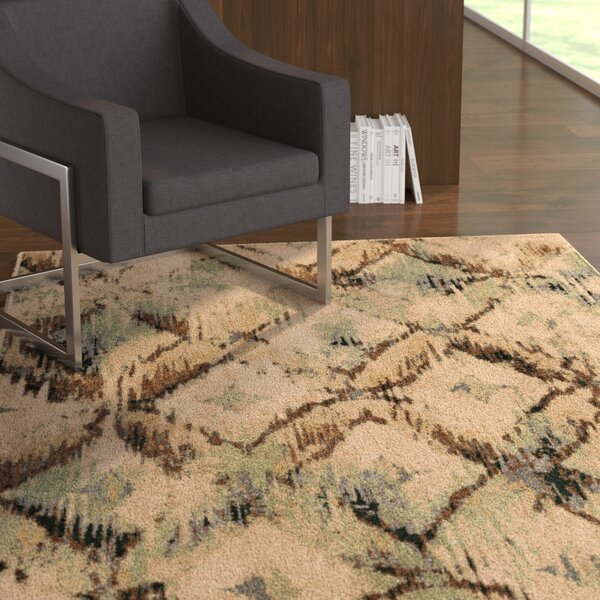 Arthur Beige Area Rug by Latitude Run