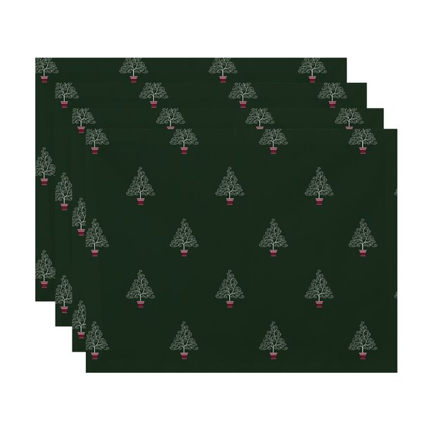 Filigree Forest Placemat (Set of 4) by The Holiday Aisle