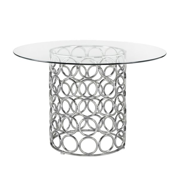 Keagan Modern Dining Table by Everly Quinn