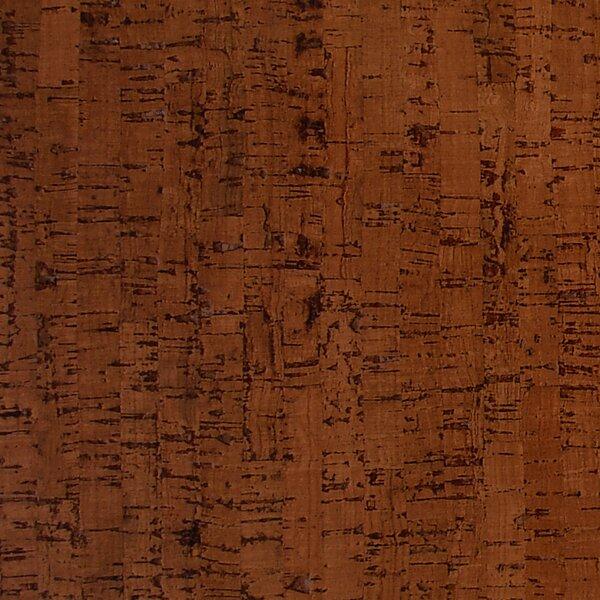 12 Cork Hardwood Flooring in Titan Brown by APC Cork