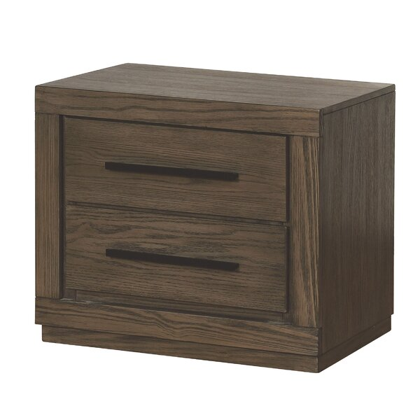 Mcmillen 2 Drawer Nightstand By Gracie Oaks