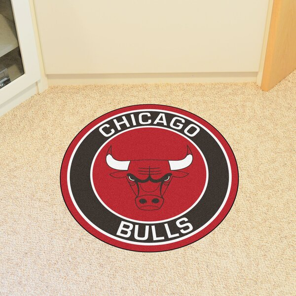 NBA Chicago Bulls Roundel Mat by FANMATS