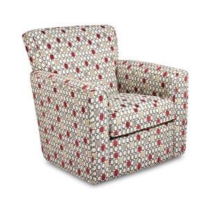 Simmons Upholstery Jon Swivel Armchair by Latitude Run