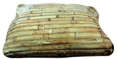 Rectangle Bamboo Dog Pillow by Dogzzzz