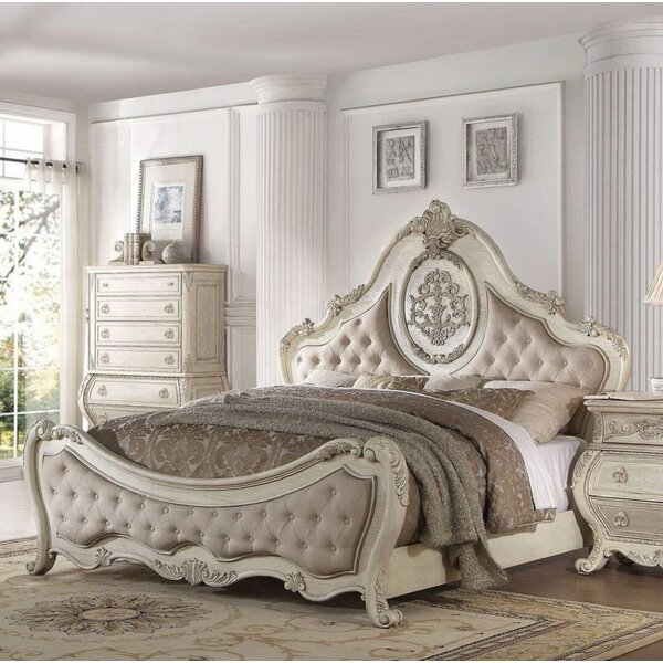 Wolverton Upholstered Standard Bed by Astoria Grand