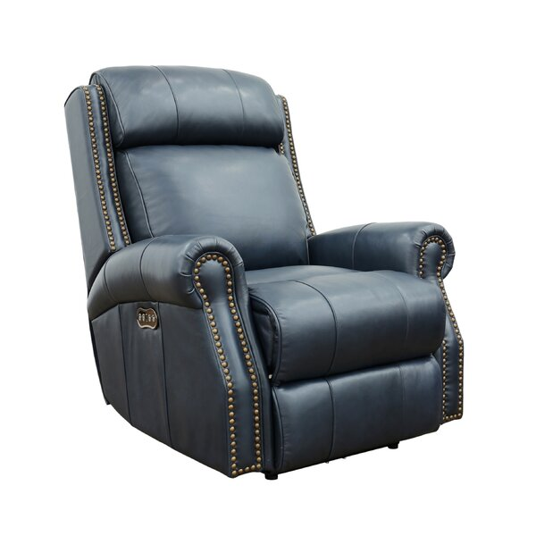 Coldwell Leather Power Recliner By Red Barrel Studio
