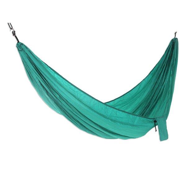 Parachute Nylon Camping Hammock by Novica