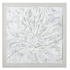 Ghost Bloom Floral by Carolyn Kinder Framed Painting by Uttermost