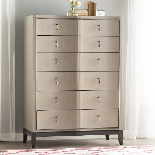 Bonifácio 6 Drawer Chest by Willa Arlo Interiors