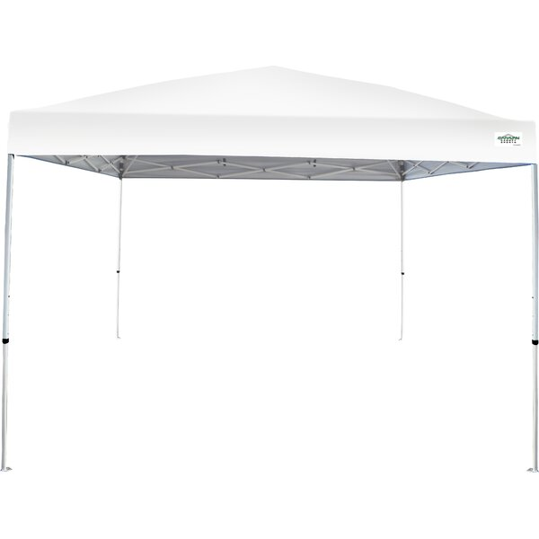 V-Series 2 Pro 10 Ft. W x 10 Ft. D Steel Pop-Up Canopy by Caravan Canopy