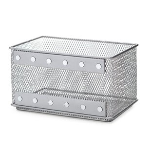 Kitchen Office Supply Organizer Wire Mesh Basket