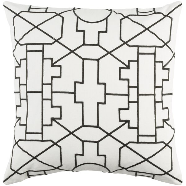 Southlake Cotton Throw Pillow Cover by Bay Isle Home