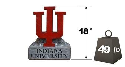 Indiana IU Logo College Mascot Statue by Henri Studio