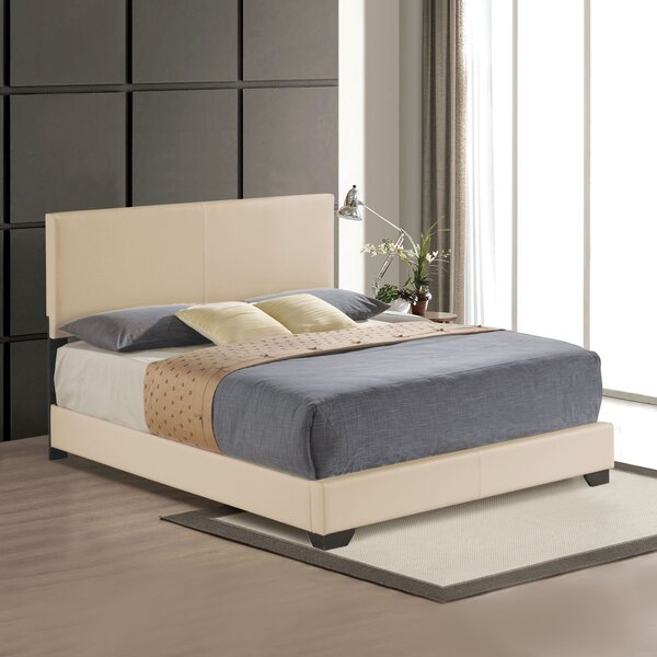 Imogene King Upholstered Standard Bed by Ivy Bronx