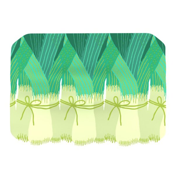 Leeks Placemat by KESS InHouse