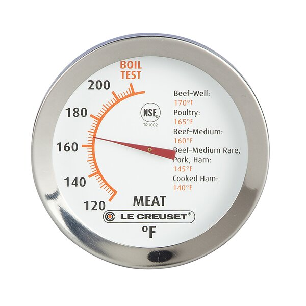 Dial Meat Thermometer by Le Creuset
