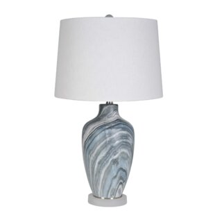 Read Reviews Simcox 28 Table Lamp (Set of 2) By Wrought Studio