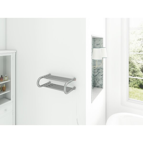 Essential Wall Mounted Electric Towel Warmer by Ancona