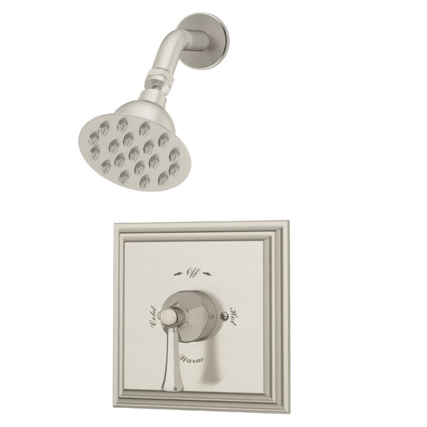 Canterbury Thermostatic Shower Faucet with Metal Lever Handle by Symmons
