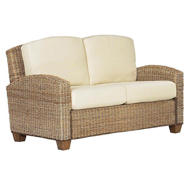 Hollier Twill Loveseat by Bay Isle Home