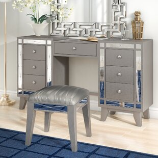Online Reviews Alessia Vanity Set By Willa Arlo Interiors