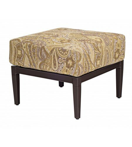 Andover Ottoman with Cushion by Woodard