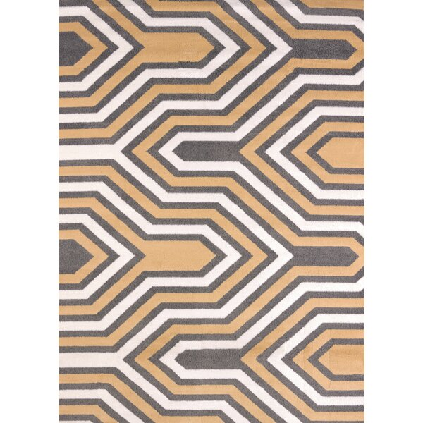 Modern Texture Cupola Harvest Area Rug by United Weavers of America